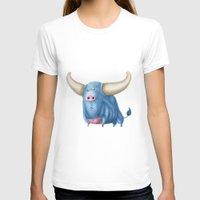 bull T-shirts featuring Bull by Kristijan D.