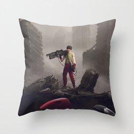 Shotaro Kaneda Throw Pillow
