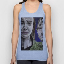 Abigail and Will, acrylic painting Unisex Tank Top