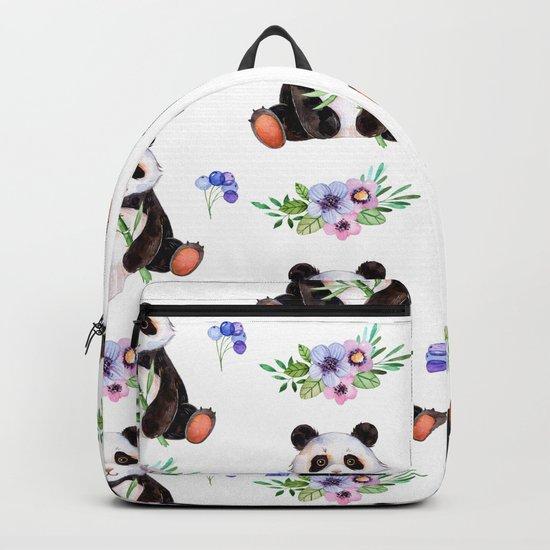 Garden Panda Backpack