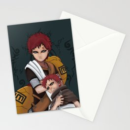 Gaara- Life Stages Stationery Cards