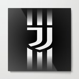 Juventus Football Club in Turin Italy Metal Print