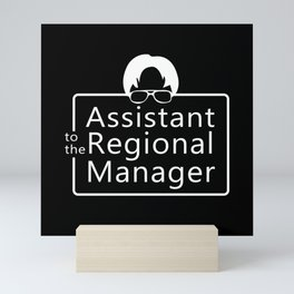 Assistant To The Regional Manager Mini Art Print