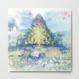 The Heart of The (enchanted) Forest Metal Print