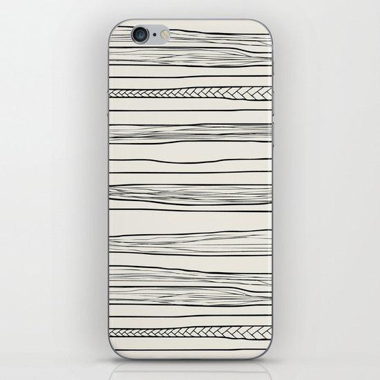 stripes n0 iPhone & iPod Skin
