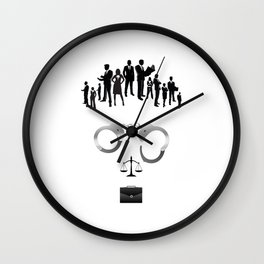 Lawyer  | The world inside your head  Wall Clock