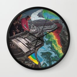 Acid House Wall Clock