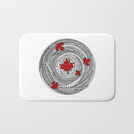 Canadian Maple Red Bath Mat