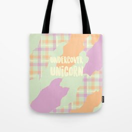 Undercover Unicorn Tote Bag