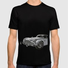 THE Bond Car. SMALL Black Mens Fitted Tee