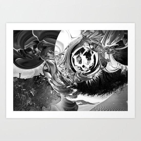 The Kite Art Print