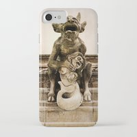 medieval iPhone & iPod Cases featuring Medieval Nightmare by Irina Chuckowree