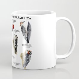 Woodpeckers of North America Coffee Mug