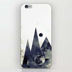 Wandering star iPhone & iPod Skin