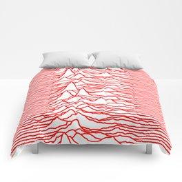 Joy Division - Unknown Pleasures [Red Lines LP] Comforters