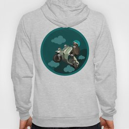 Sloth on a Scooter Hoody