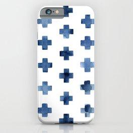 Crosses Scandinavian Pattern iPhone Case