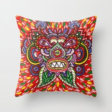 Dragon Spirit Throw Pillow