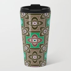 4 Oriental patterns Metal Travel Mug