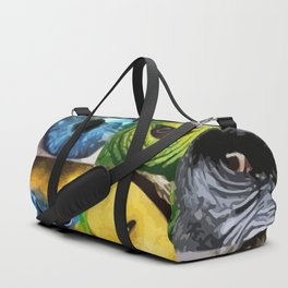 Animal's Eyes Duffle Bag