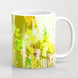 Southwestern Flower Arrangements Color Slapped Coffee Mug