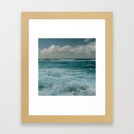 Hookipa Maui North Shore Hawaii Framed Art Print