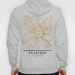 BRADFORD ENGLAND CITY STREET MAP ART Hoody