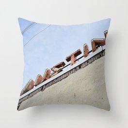 South Congress (Austin, Texas) Throw Pillow