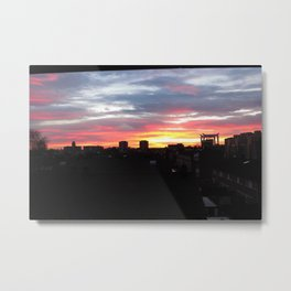 Unique sky colors Metal Print