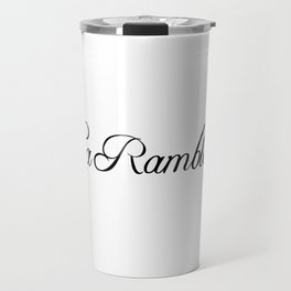 La Rambla Travel Mug