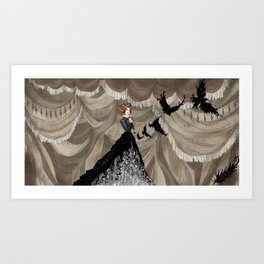 Midnight Circus: The Illusionist Art Print