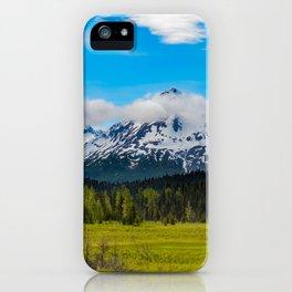 Bear_Creek Mountain Glacier II - Alaska iPhone Case