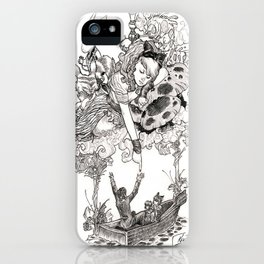 Dreaming Alice iPhone Case