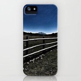 Darkness Visible - Mt. Sopris - Glenwood Springs, CO iPhone Case