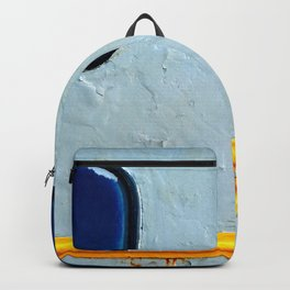 Old Diesel Locomotive Abstract Backpack