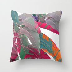 Tropical abstract(5) Throw Pillow