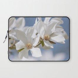 White Magnolia Laptop Sleeve