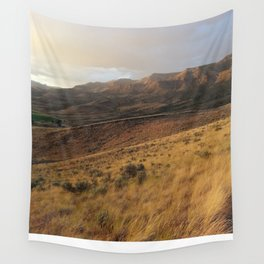 Getting late on the painted hills Wall Tapestry