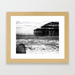 Brighton Ghosts  Framed Art Print