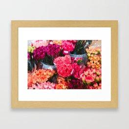 All The Carnations Framed Art Print