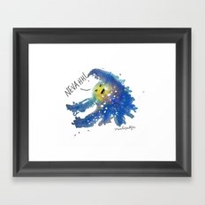 The Universe Refuses to Work With You Framed Art Print