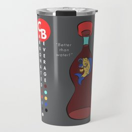 CB Cola Ad 2: Better than Water! Travel Mug