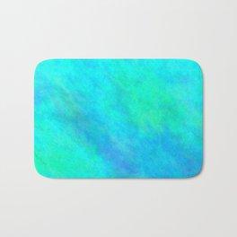 Cyan Color Bath Mat