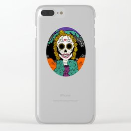 La Catrina Clear iPhone Case