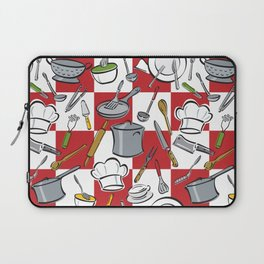 Kitchen Tools Check Laptop Sleeve