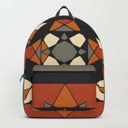Mandala earth colors Backpack