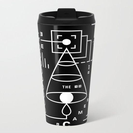 The Harsh Truth Of The Camera Eye Metal Travel Mug