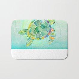 SHANTI SPARROW: Byron the Turtle Bath Mat
