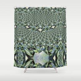 Jewelled Sage - Fractal Shower Curtain