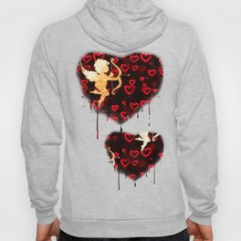 Cupids and Hearts Hoody
